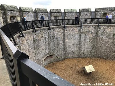 Arundel Castle courtyard