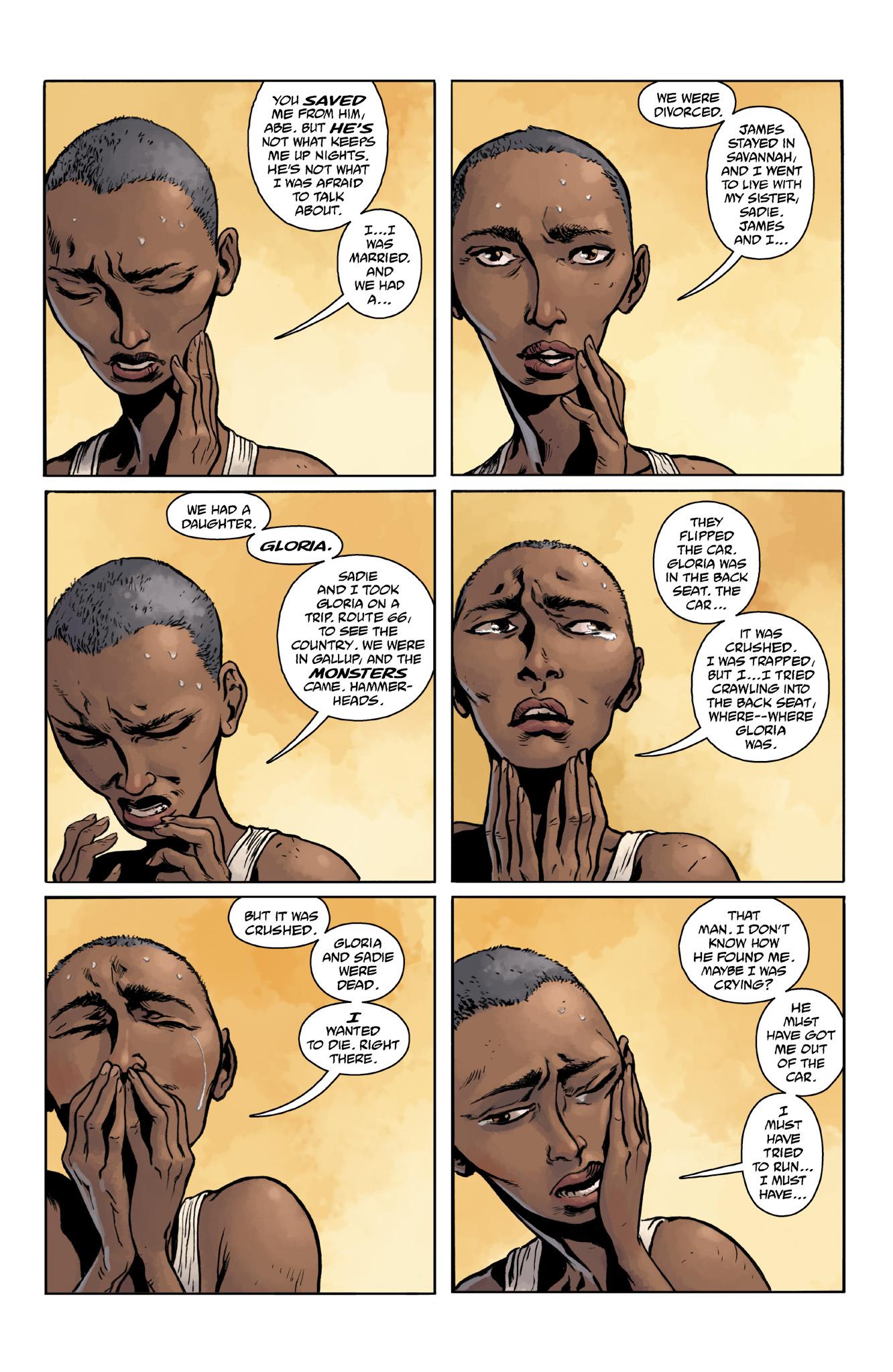 Read online Abe Sapien comic -  Issue #18 - 19