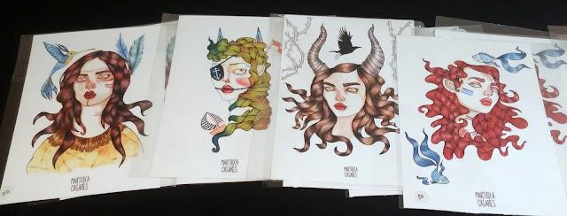 ilustraciones, martutxa, casae¡res