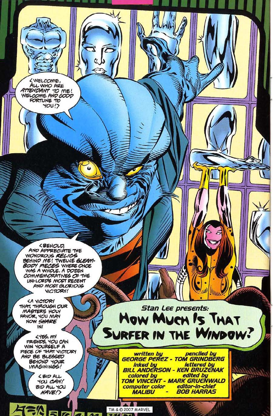Read online Silver Surfer (1987) comic -  Issue #115 - 6