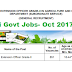 Agriculture Extension Officer (851 Posts) Govt Job-Oct 2017