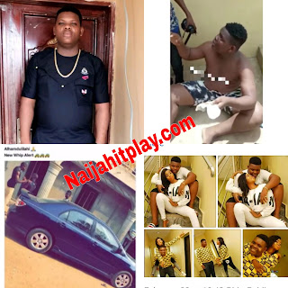 Video: Days after buying a new car, Abeokuta big boy Sdj Teeman reportedly caught with used sanitary pads
