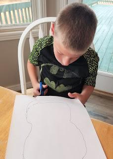 Preschool Skeleton Craft
