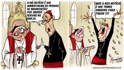 Resultado de imagem para charge sobre padres