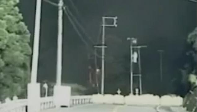 Terrifying landslide in Japan