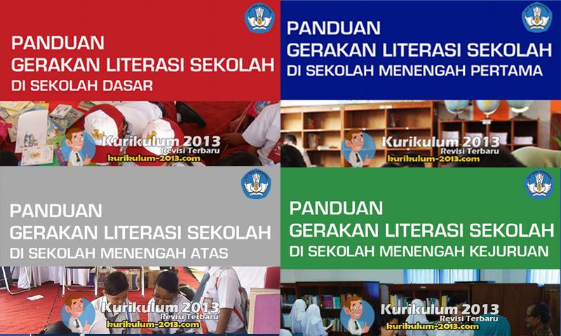 Download Buku Panduan Literasi Sekolah Untuk SD, SMP, SMA, SMK dan SLB Lengkap