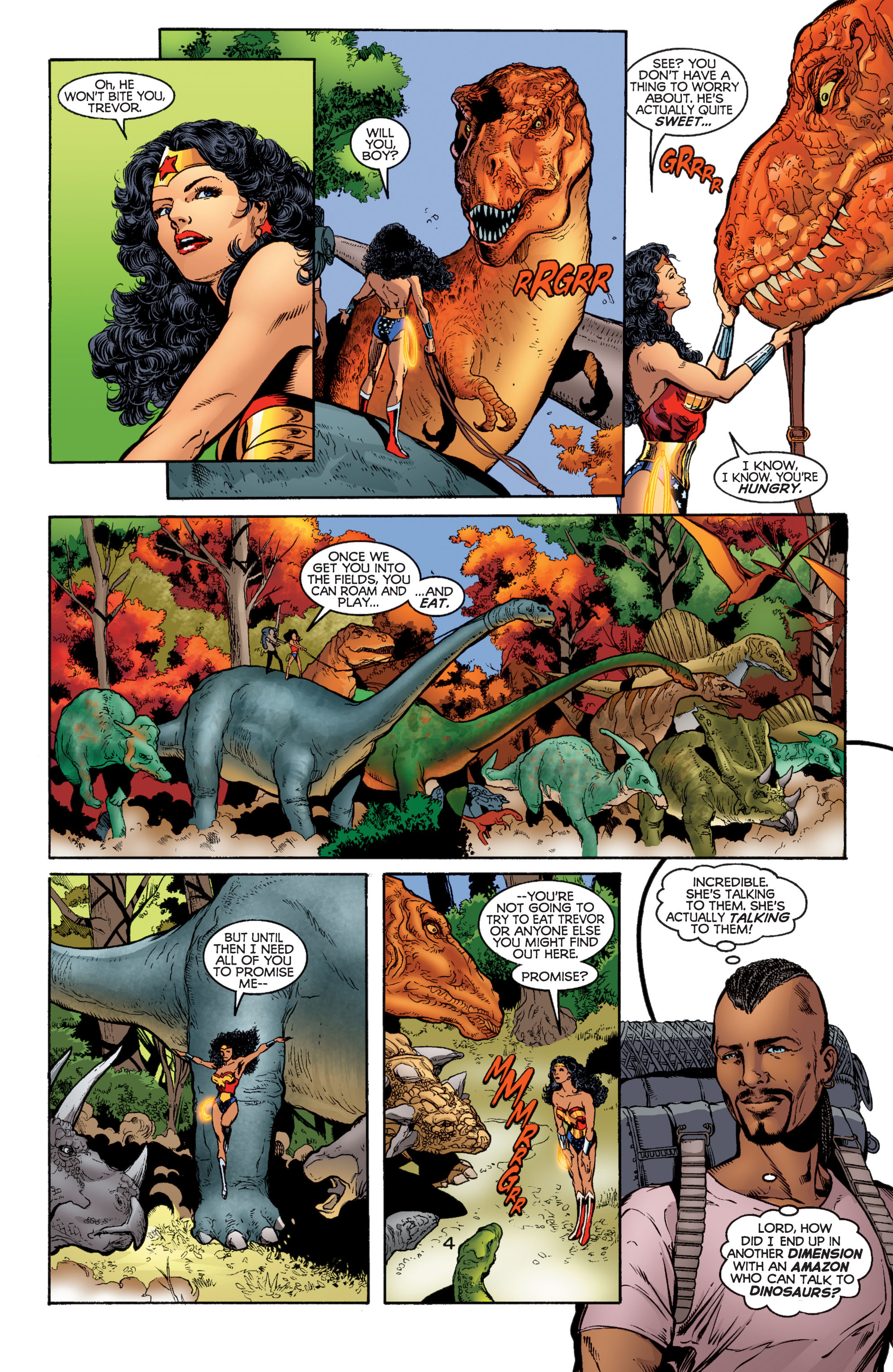 Read online Wonder Woman (1987) comic -  Issue #184 - 4