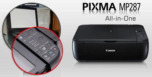 Dua Cara Mudah Memperbaiki Printer Canon MP287 Lampu Alarm Menyala