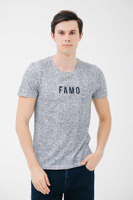 Tampil Modis dengan T-Shirt Famo 3Second
