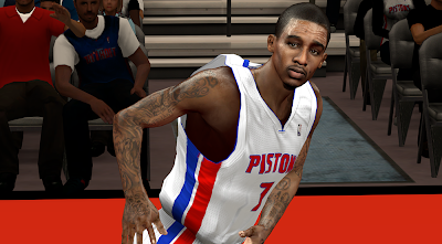 NBA 2K14 Brandon Jennings Cyberface Patch