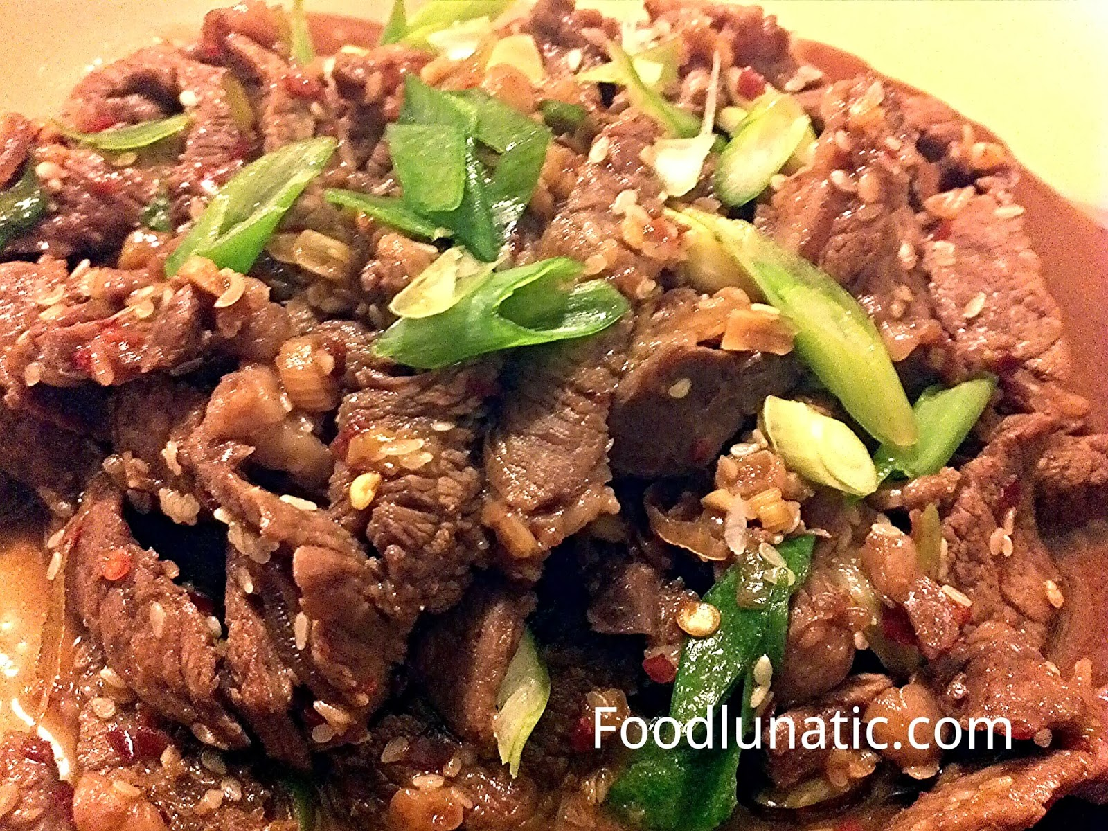 Food Lunatic: Korean Beef Bulgogi