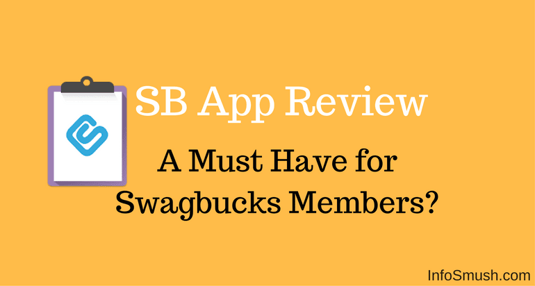 SB Answer App Review: A Must Have for Swagbucks Members? - INFOSMUSH
