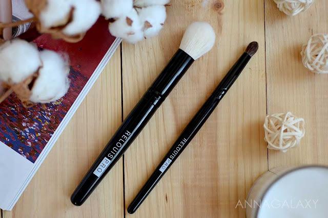 Отличный вариант для макияжа Кисти для макияжа Relouis Pro круглая для теней и малая мультифункциональная отзывы