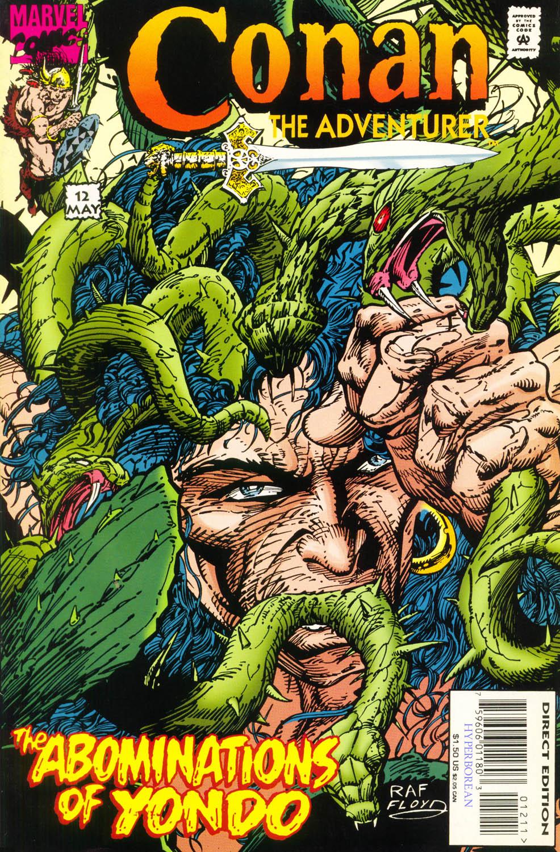 Read online Conan the Adventurer comic -  Issue #12 - 1