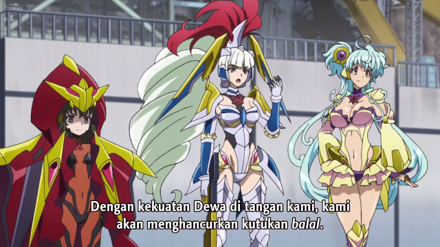 Senki Zesshou Symphogear AXZ Episode 07 Subtitle Indonesia