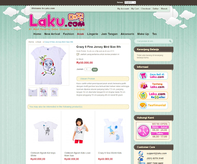 Belanja Baju Anak Online Menyenangkan