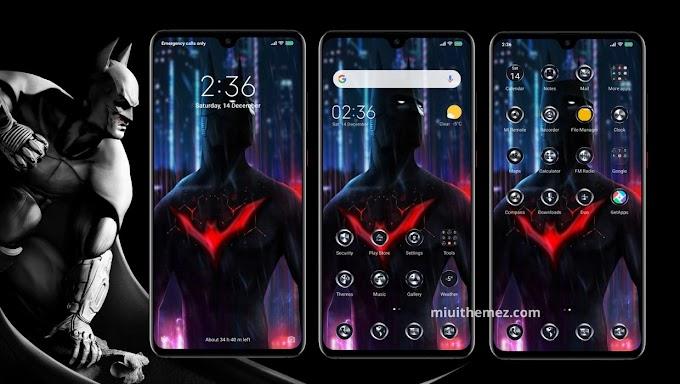 Batman Dark Knight v11 MIUI Theme for Xiaomi Redmi Devices