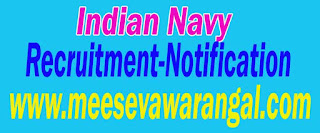 Indian Navy Recruitment Notification