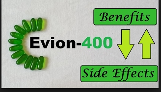 Evion 400 for hair regrowth and skin