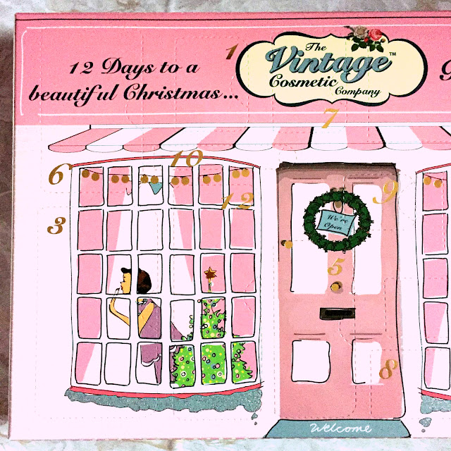 The Vintage Cosmetics Company - Twelve Days Advent Calendar