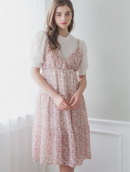 Floral Midi Cami Dress