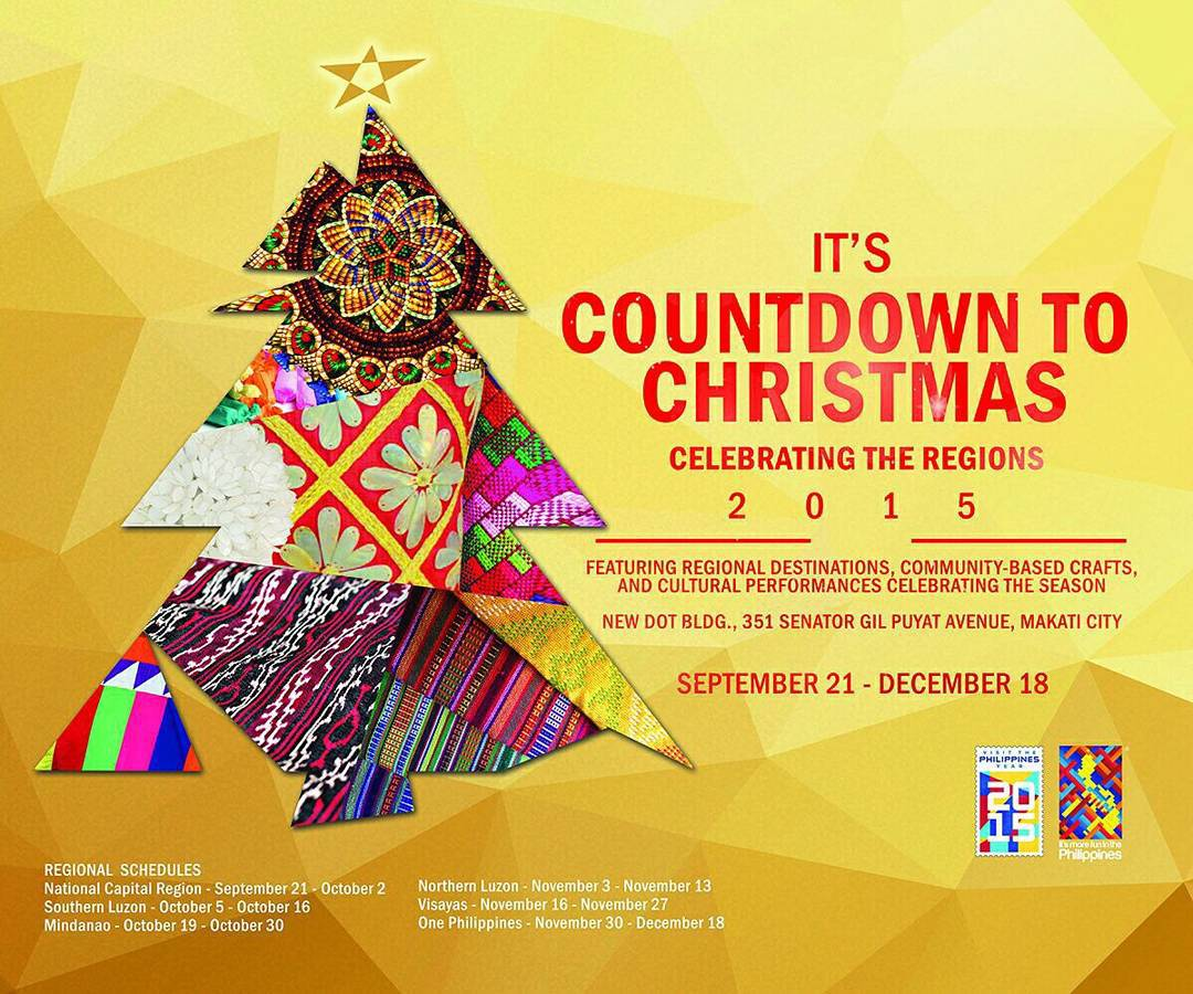 doors again to the public as a must experience venue for its countdown to christmas celebrating the regions beginning september 21 until december 18 - Countdown To Christmas 2015