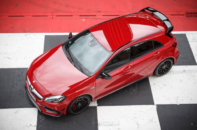 Đuôi xe Mercedes AMG A45 4MATIC 2018 thiết kế ấn tượng