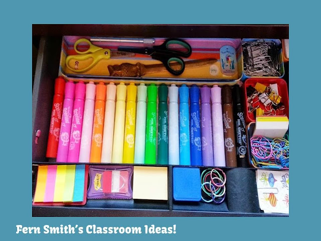 Fern Smith's Blog Post on Loving Markers and Organization!