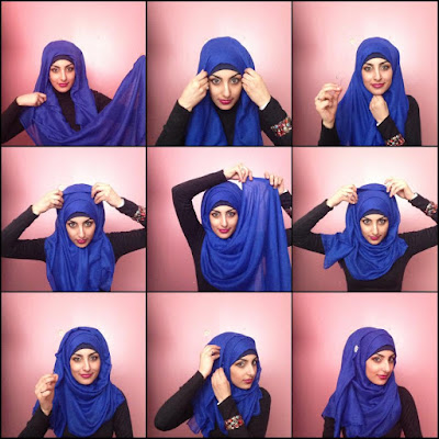 Cara Memakai Jilbab Simple