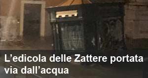 L'edicola delle Zattere portata via dall'acqua: il premier Conte incontra il gestore - su ''La Voce di Venezia''