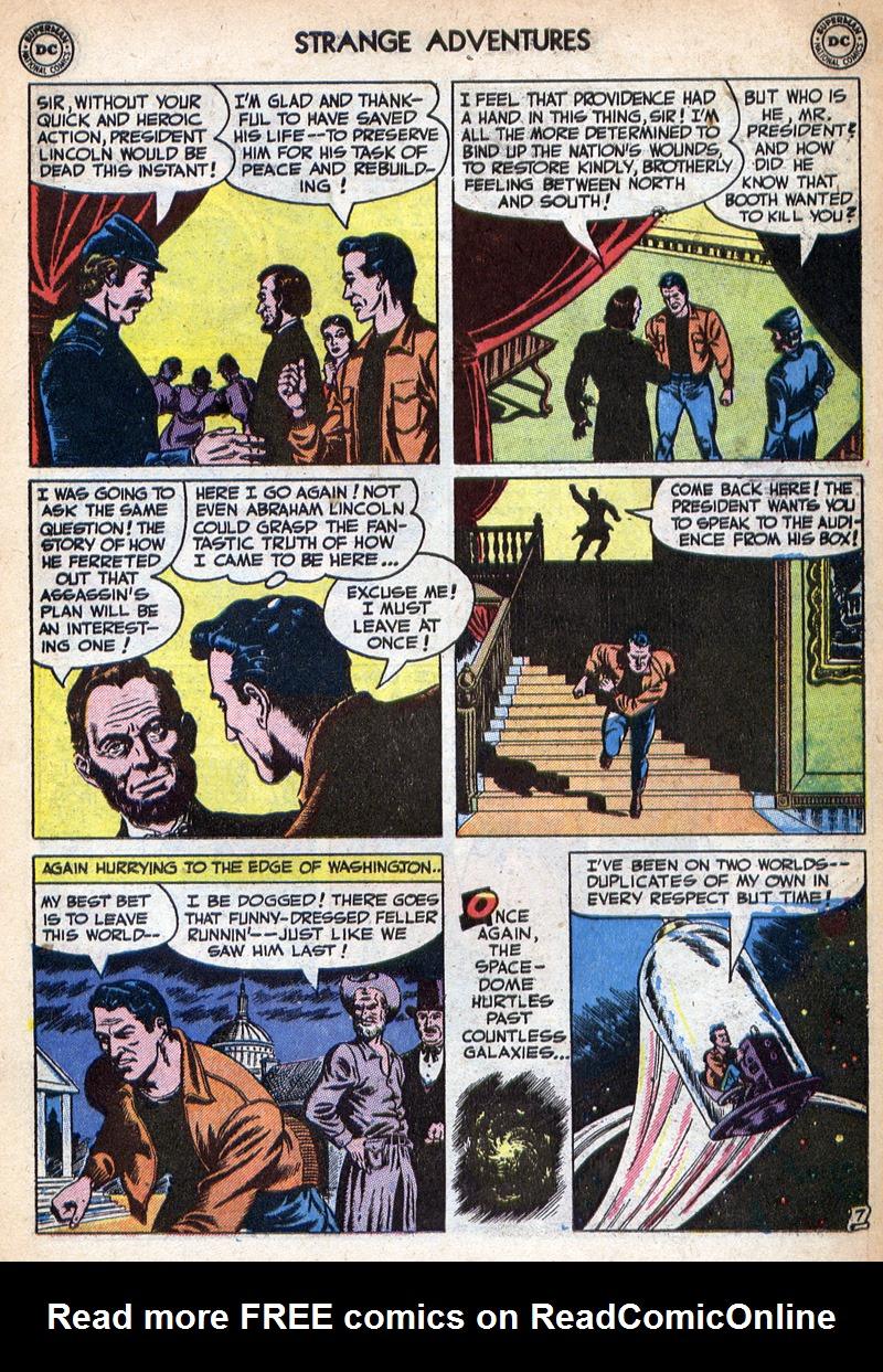 Strange Adventures (1950) issue 10 - Page 21
