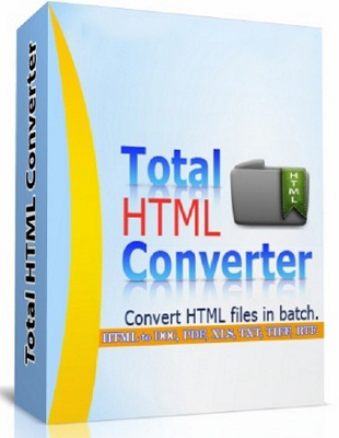 Total HTML Converter 5.1.0.126 poster box cover