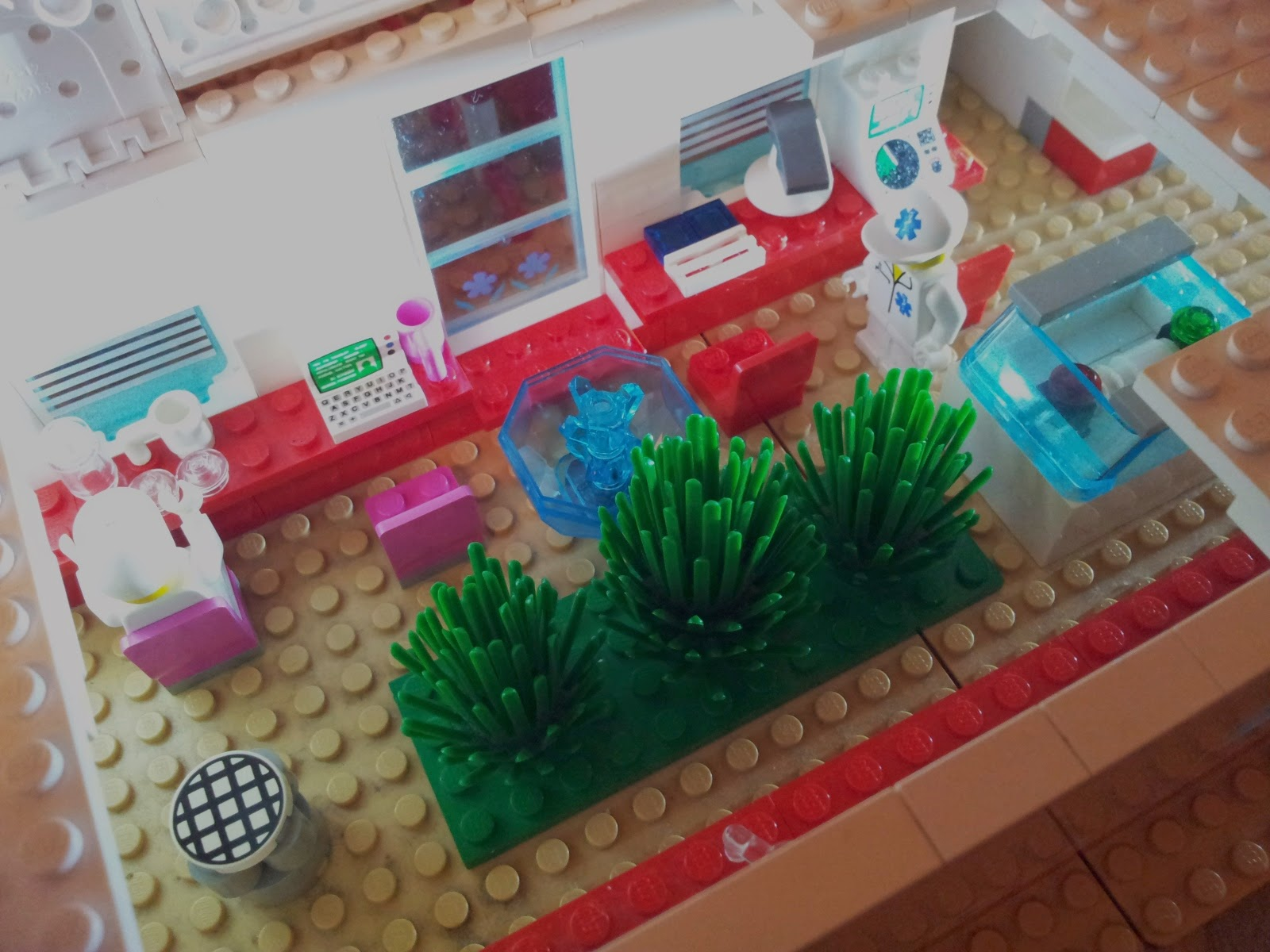 LEGO Mars colony
