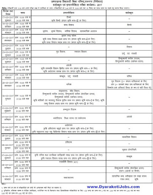 Uttarakhand Board Time Table, UK Board Time Table