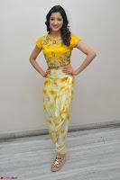Richa Panai in Yellow Slim Fit Crop top ~ CelebxNext 019.JPG