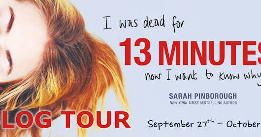 13 Minutes by Sarah Pinborough ~ Blog Tour: #BookReview & #Giveaway