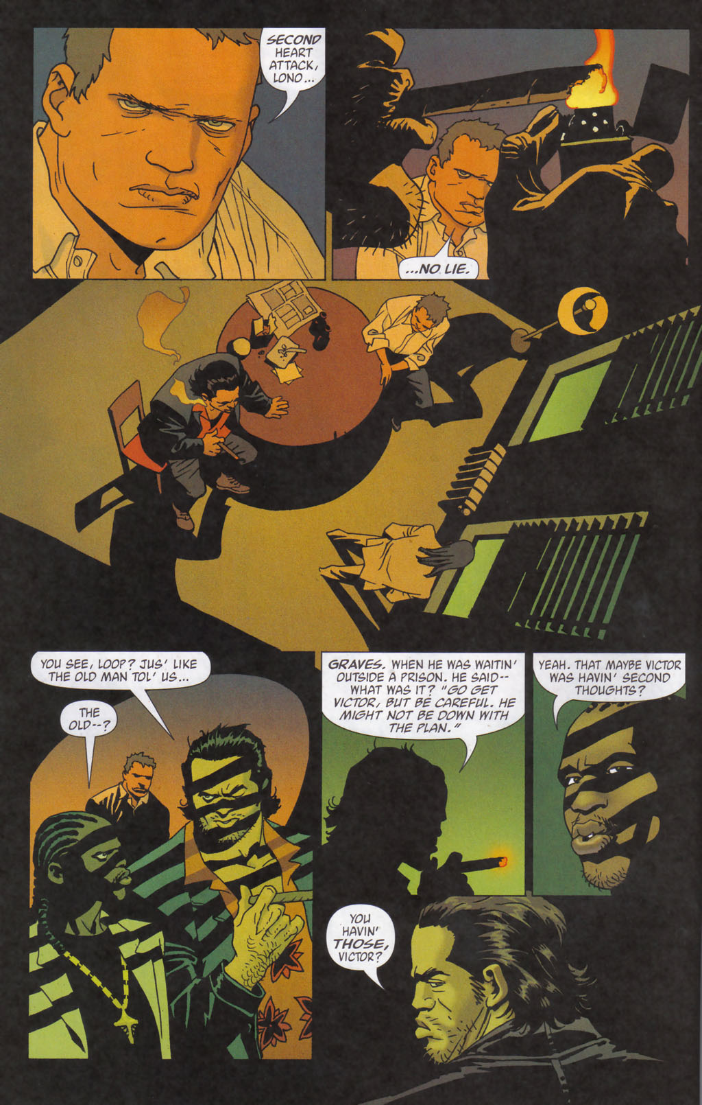 Read online 100 Bullets comic -  Issue #59 - 11