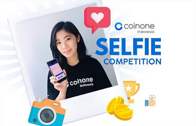 Event kompetisi foto selfie coinone indonesia