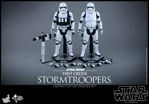 Stormtroopers Collectible Figures Set
