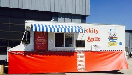 lickety split ice cream truck for sale