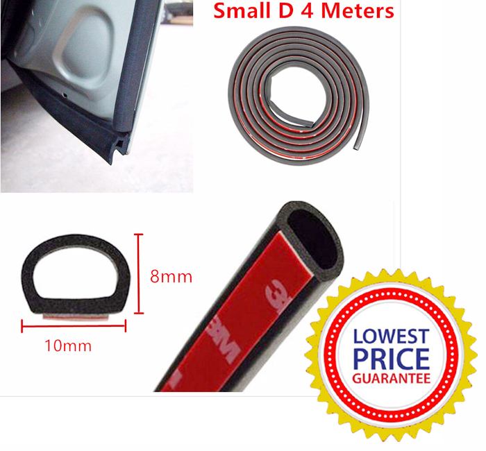 Small D Rubber Seal For Car Door Sound D&ing/Insulation - Reduces Cabin Sound  sc 1 st  RicTheCarLover & Small D Rubber Seal For Car Door Sound Damping/Insulation - Reduces ...