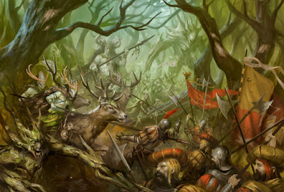 Wood Elves attack