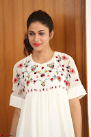 Lavanya Tripathi in Summer Style Spicy Short White Dress at her Interview  Exclusive 242.JPG