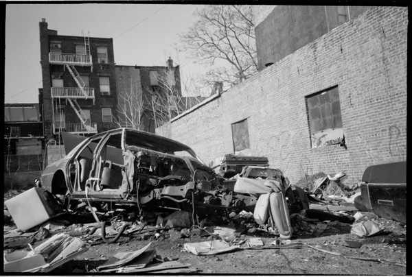 Car Stripping In Brooklyn 1980 S Vintage Everyday