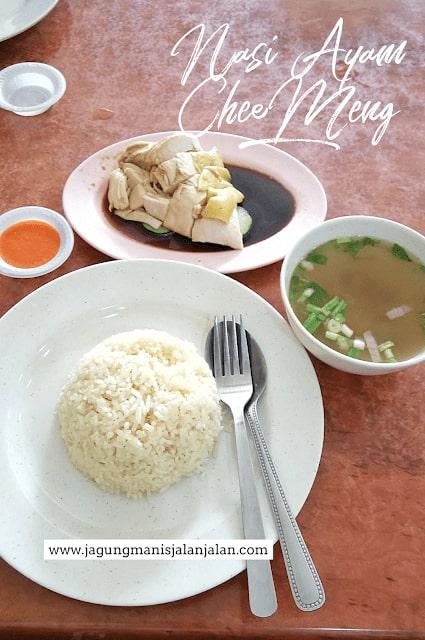 Wisata Kuliner di Kuala Lumpur, nasi ayam chee meng