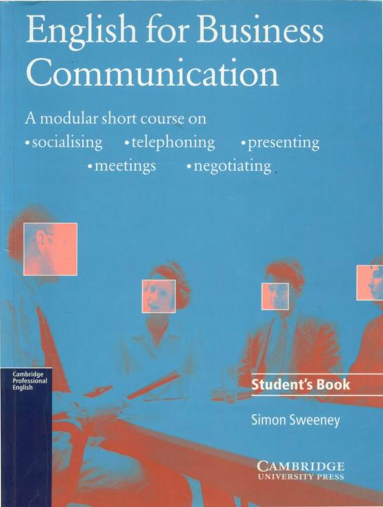 English For Business Communication Free PDF Book
