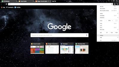 Cara Ganti Thema Google Chrome
