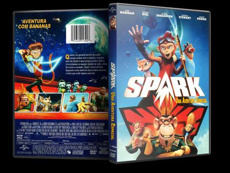 Capa DVD Spark - Uma Aventura Espacial [Custom]