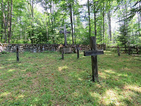 Cmentarz z okresu I wojny światowej.