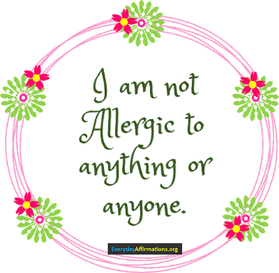 Health Affirmations for Allergies3